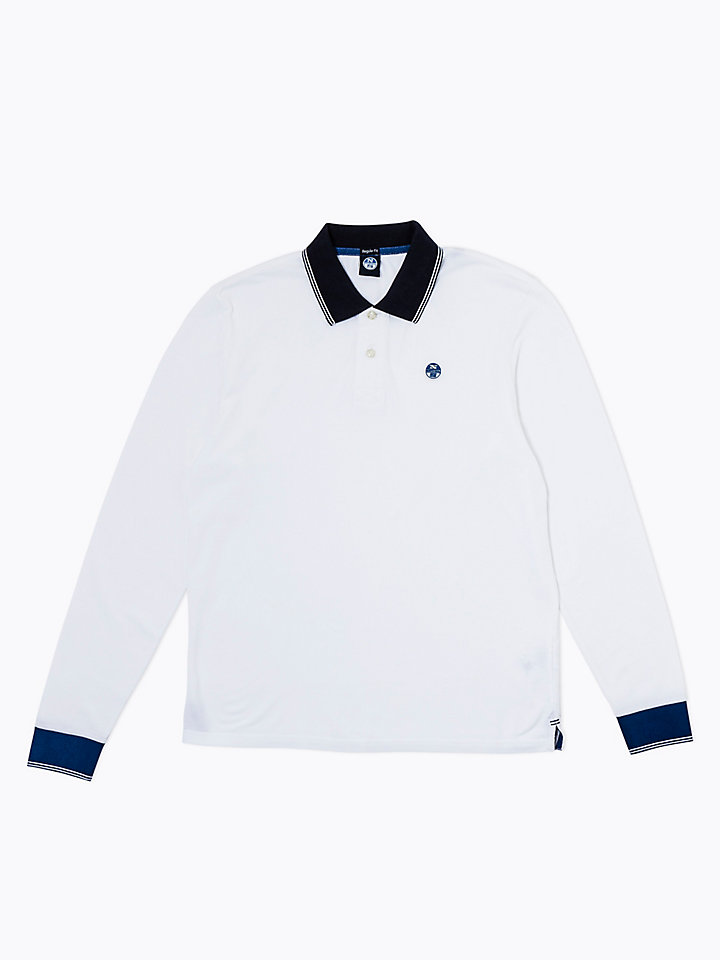 Cotton Polo With Appliqués