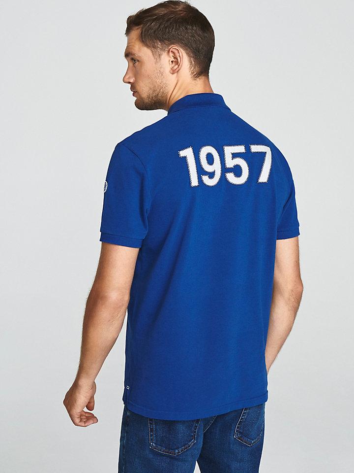 Appliqué Cotton Polo Shirt