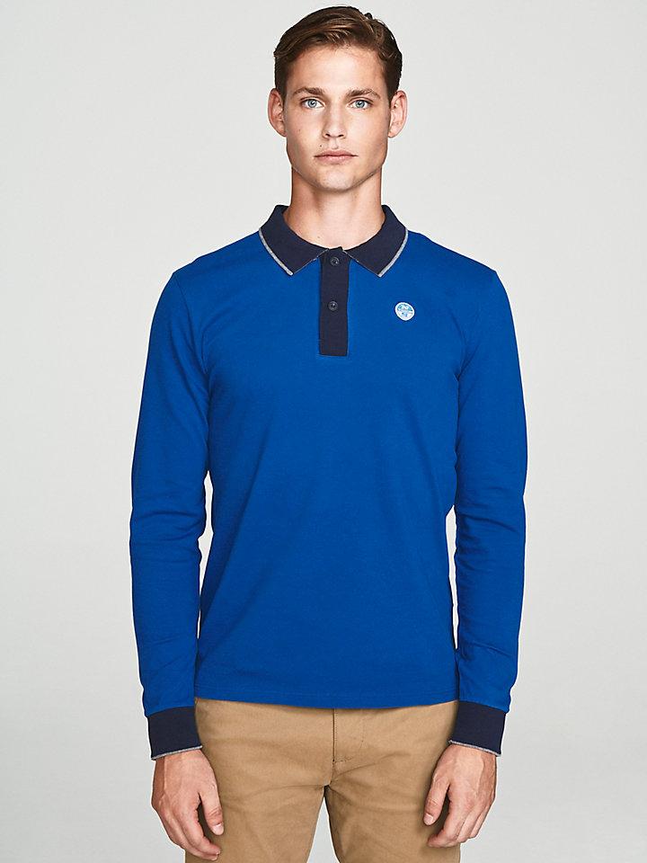 Stretch Piqué Polo Shirt