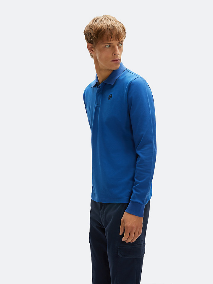 Stretch Cotton Piqué Polo Shirt