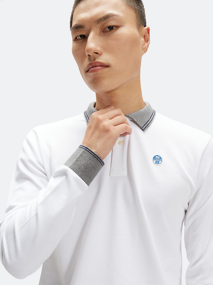 Polo Shirt In Heavyweight Cotton Jersey