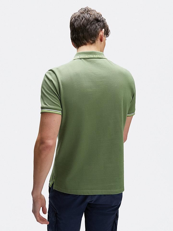 Poloshirt van piquékatoen