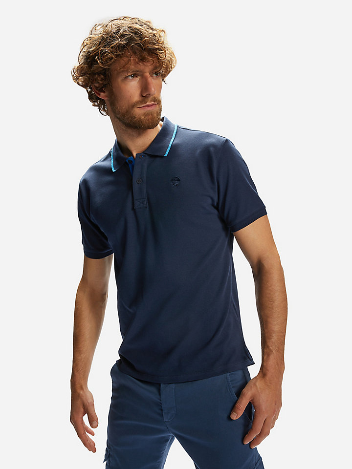 polo s/s w/embroidery