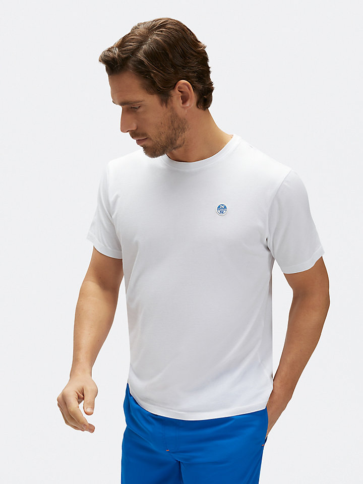 T-Shirt aus Baumwolljersey