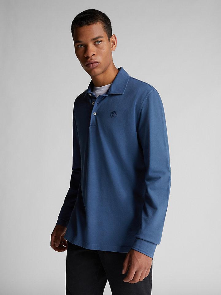 Plant-Based Dyed Polo Shirt