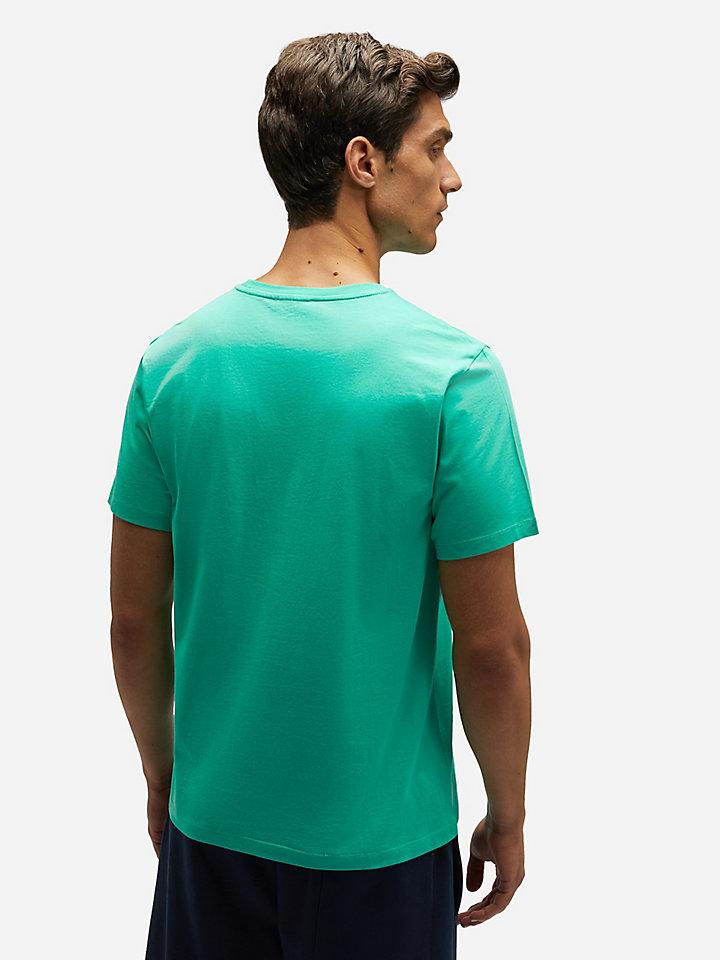Camiseta jersey de algodón
