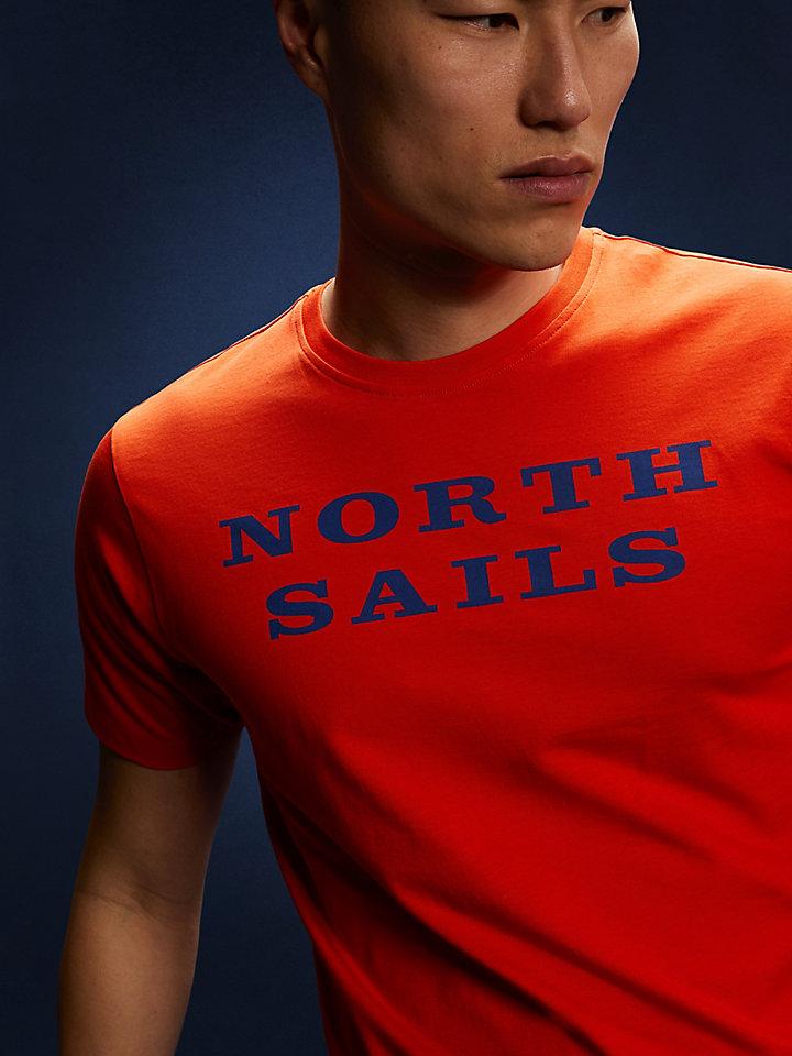 Baumwoll-Jersey-T-Shirt