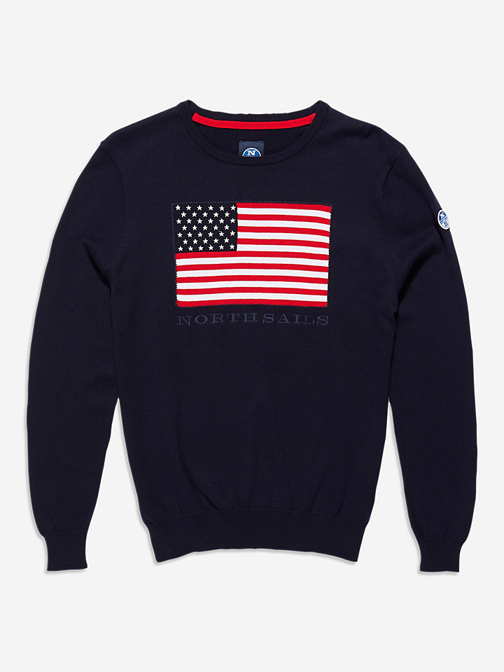 Usa Round Neck 12Gg