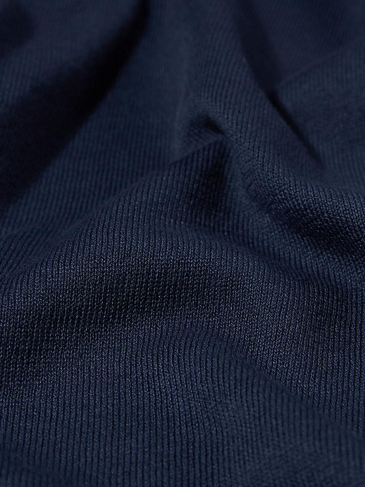 Cotton Cashmere Round Neck 12Gg