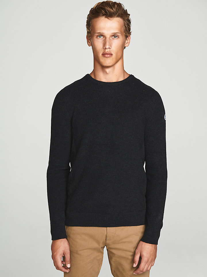 Ribbed Wool Jumper