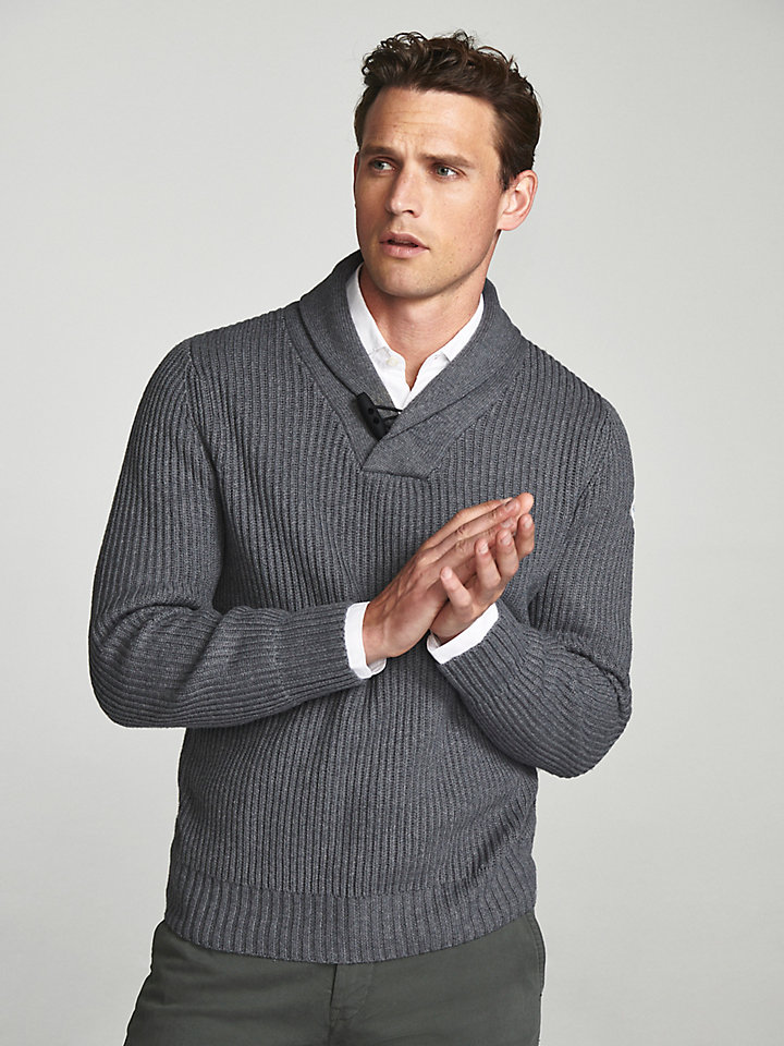 Shawl Collar Jumper