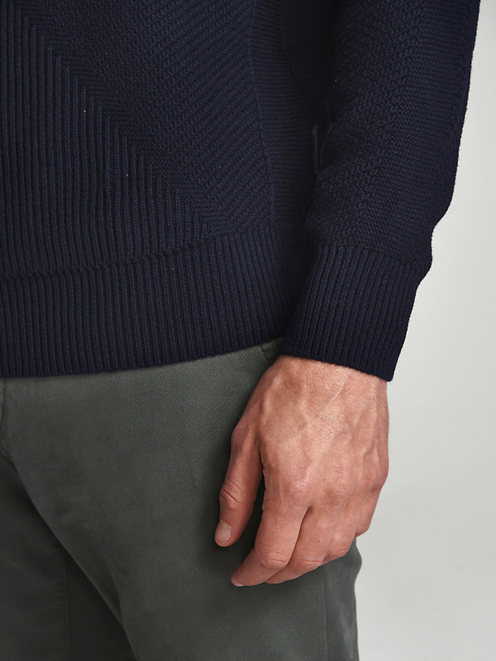 Intarsia Wool Jumper