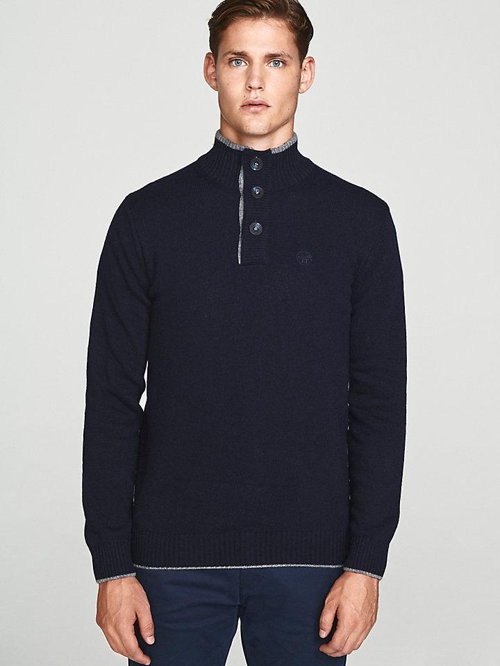 Wool Cashmere Blend Jumper
