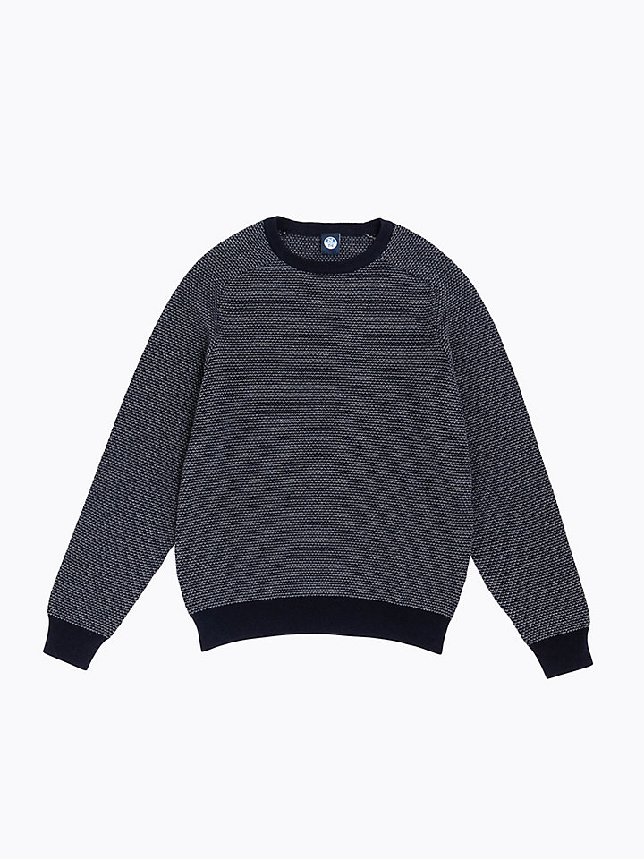 Cotton Jacquard Jumper