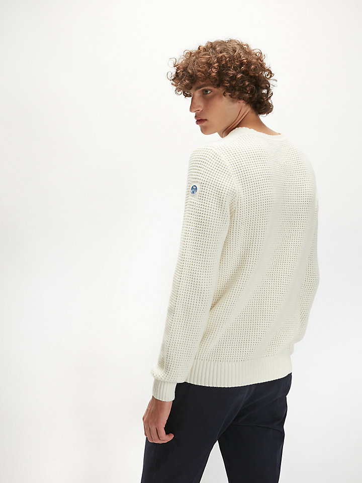 Wool-Cotton Blend Jumper
