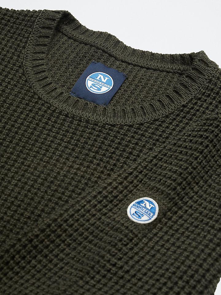 Wool-Cotton Blend Jumper