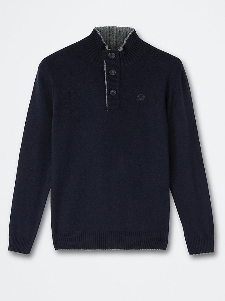 Pullover aus Wolle-Kaschmir-Mischung