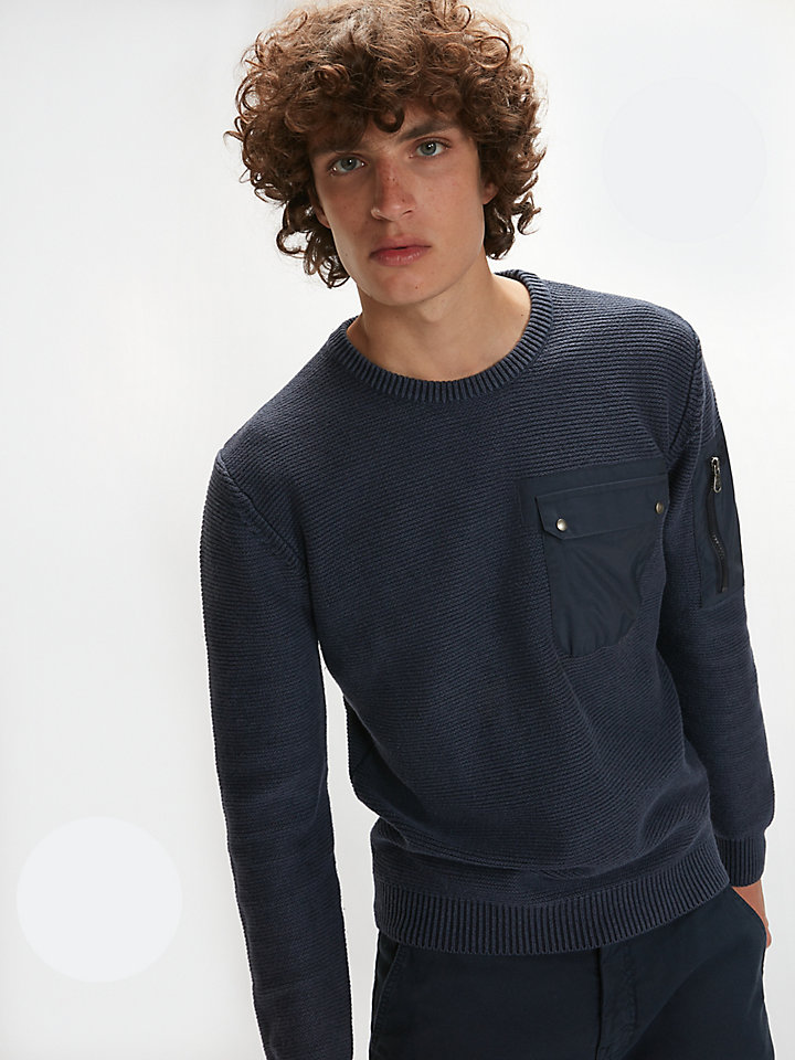 Pullover aus Wollmischung