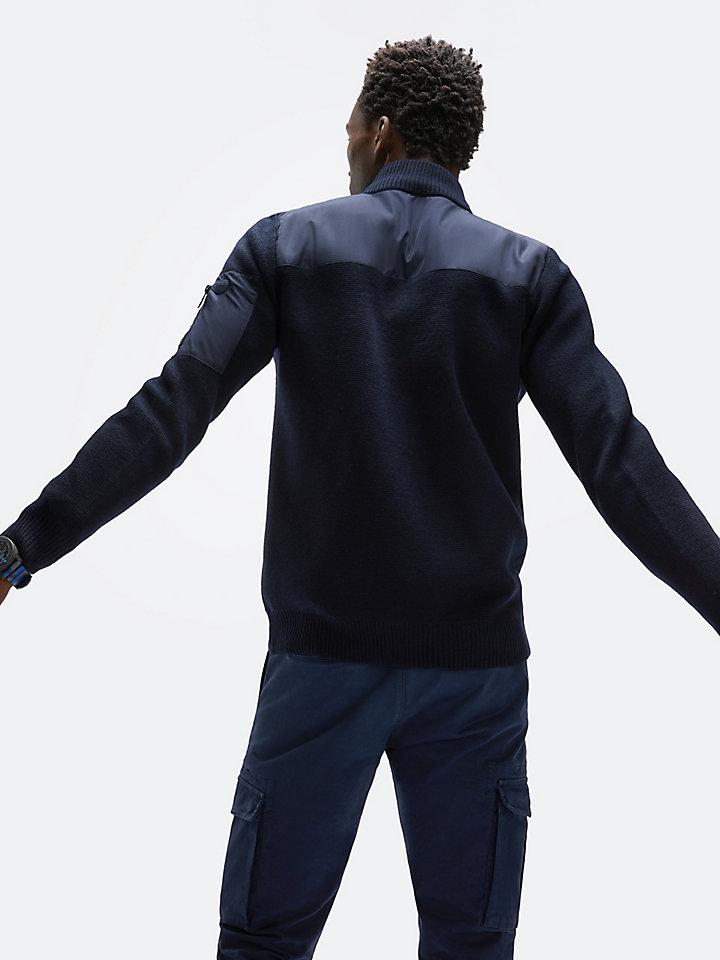 Vest van wolmix