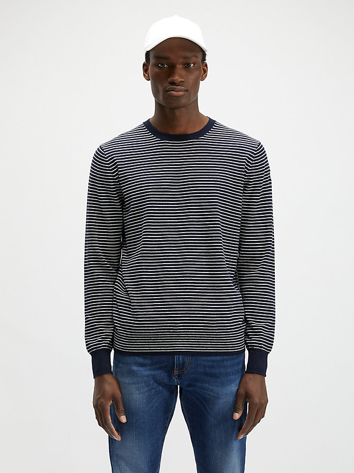 Cotton-Wool Blend Jumper
