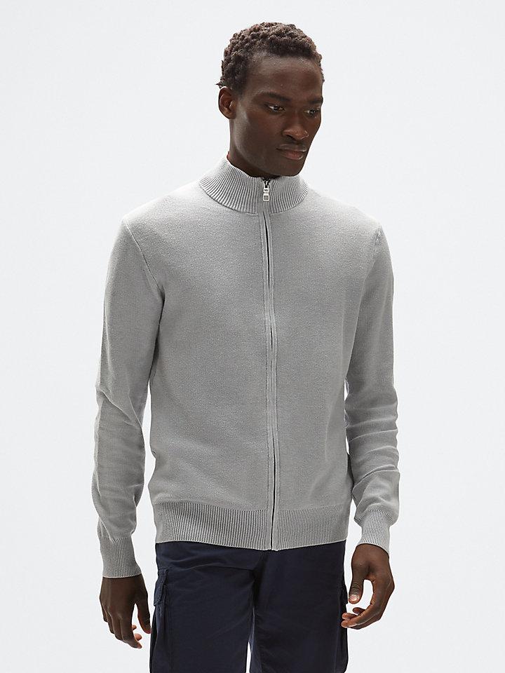 full zip sweater 12 gg