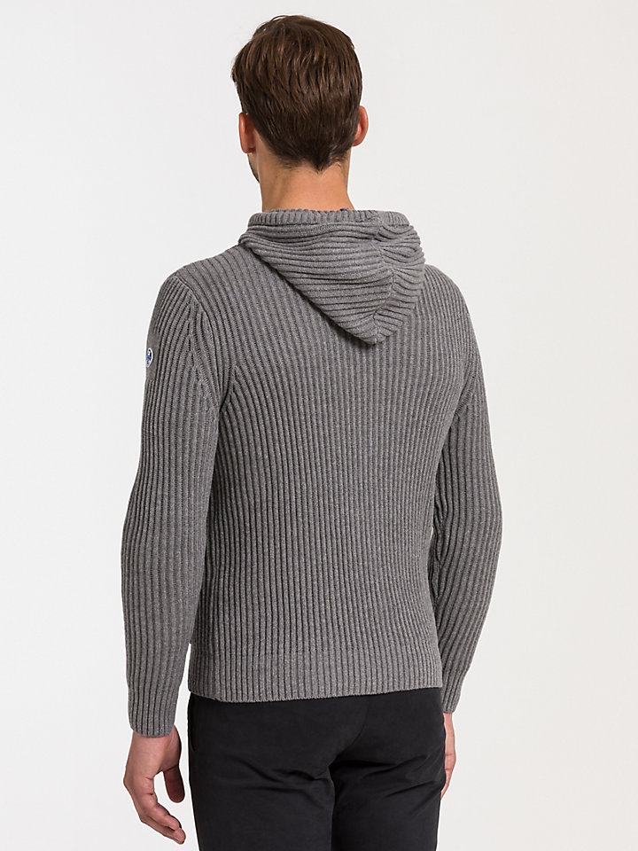 Full Zip Sweater Hooded