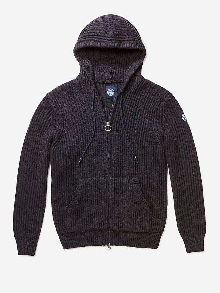 Full Zip Sweater Hooded