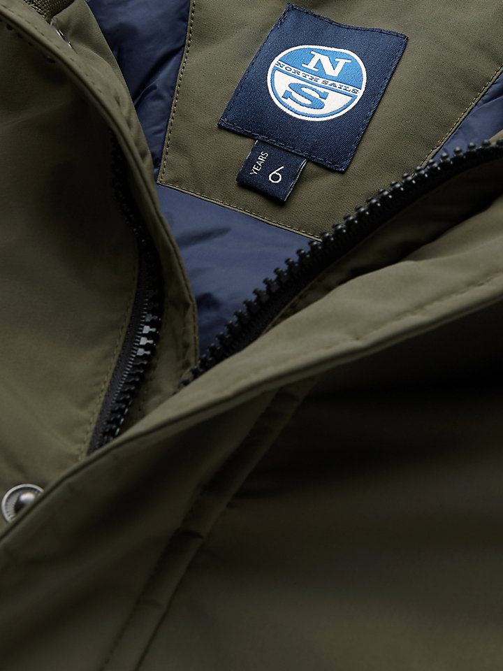 Hooded Sailor Parka