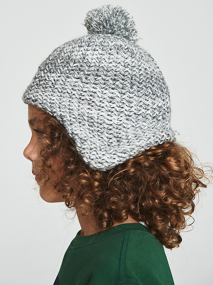 Fleece-Lined Wool Beanie