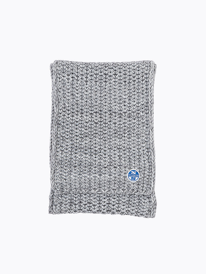 Mélange Wool Scarf