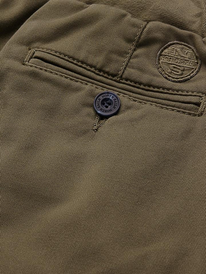 Cotton Gabardine Chino Trousers