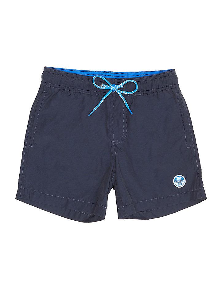 NORTH SAILS Shorts de Bain pour Hommes en Coton//Polyamide Coupe Droite /Élastiqu/ée avec Cordon de Serrage et Poches Baudrier