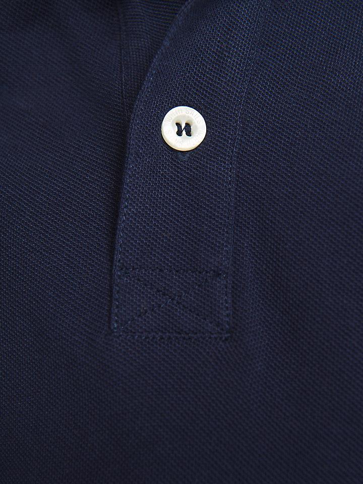Polo In Cotone Con Patch