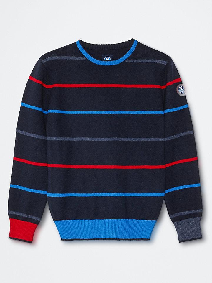 Pull en laine et coton