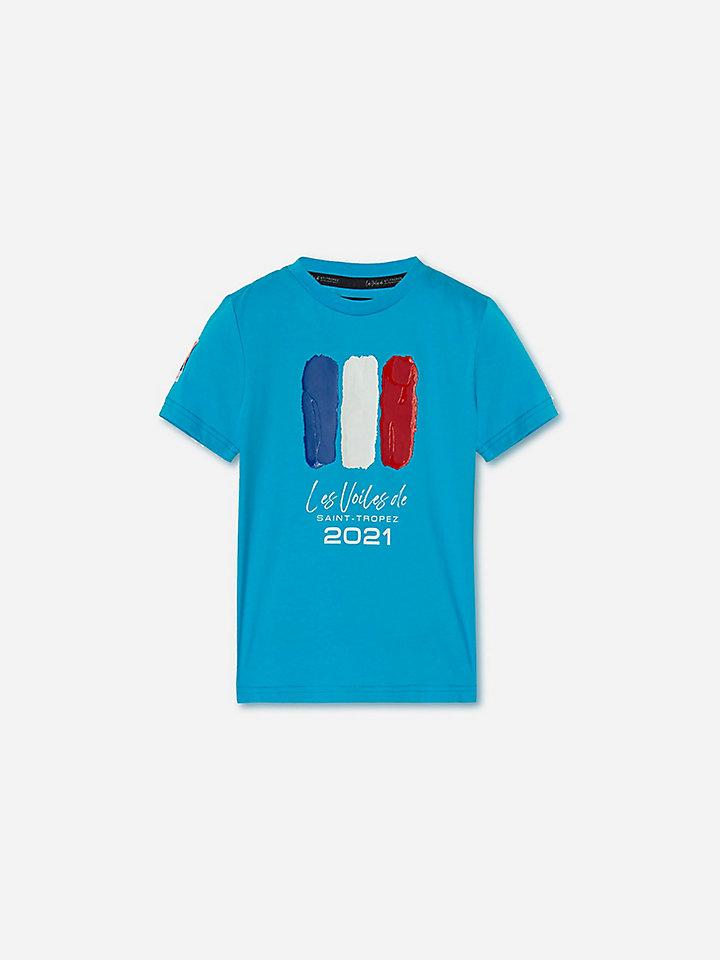 T-shirt in cotone stretch