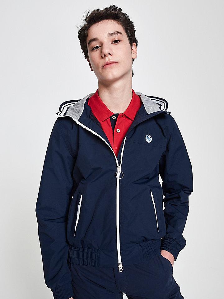 Hooded Sailor Jacket