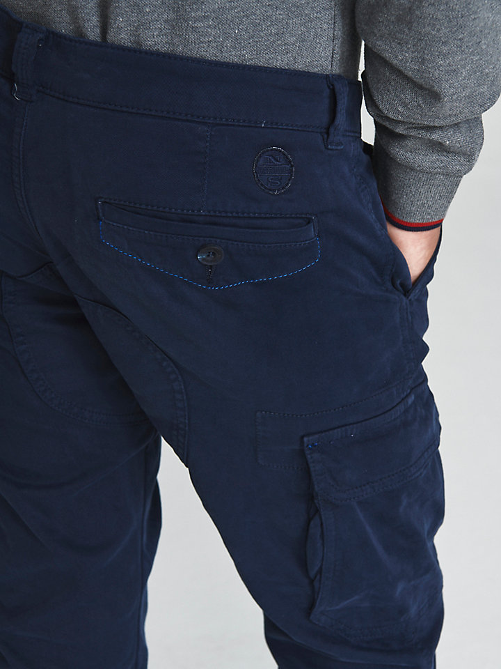 Regular-Fit Cargo Trousers