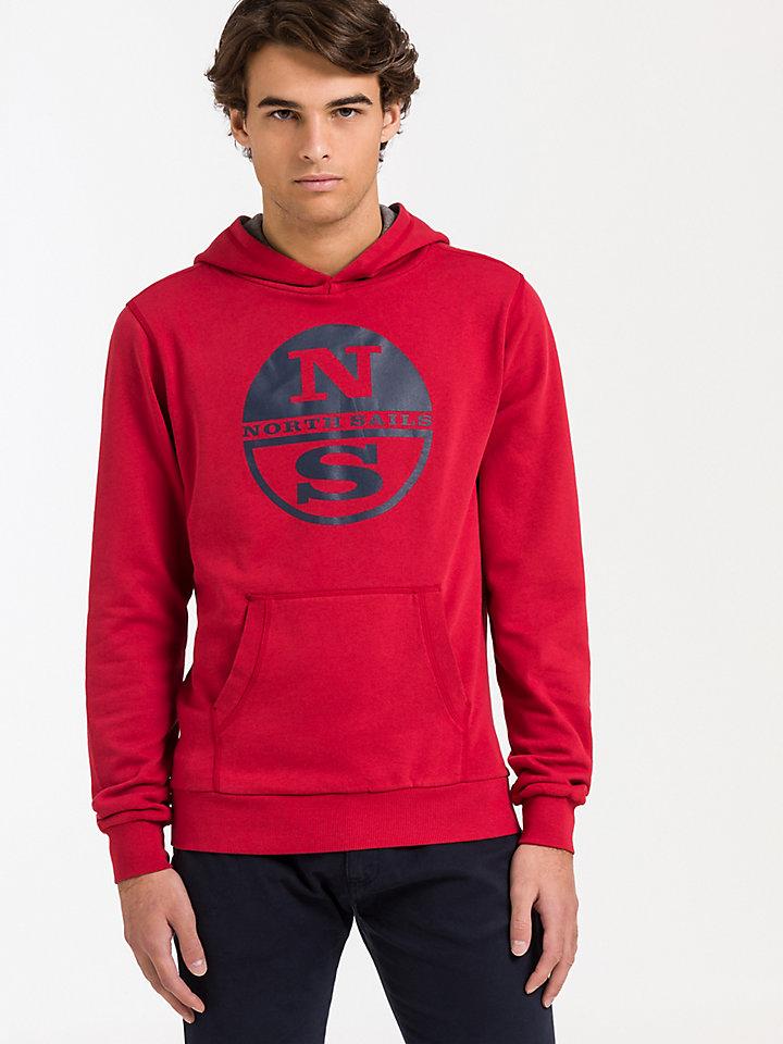 Hooded Sweat Sweater