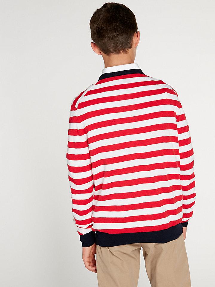 Striped Round Neck 12 Gg