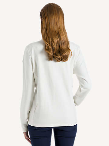 Long Sleeve Zip Sweater