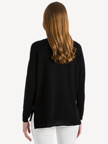 Round neck 14GG long sleeve