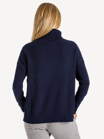 Oversized Turtleneck 7GG long sleeve