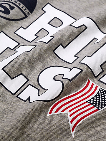 Printed Logo USA T-Shirt