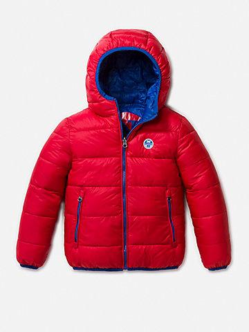 Reversible Hooded Jacket