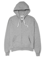 HOOD FUL ZIP WITH PATCH