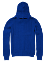 FULL ZIP SWEATER WITH HOOD