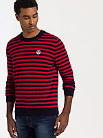 Striped Round Neck Sweater