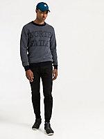 Striped Round Neck Sweater