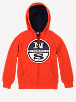 Hooded Full Zip with Print